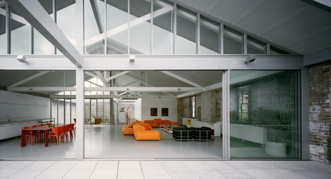 Redfern Warehouse: Recycling original elements