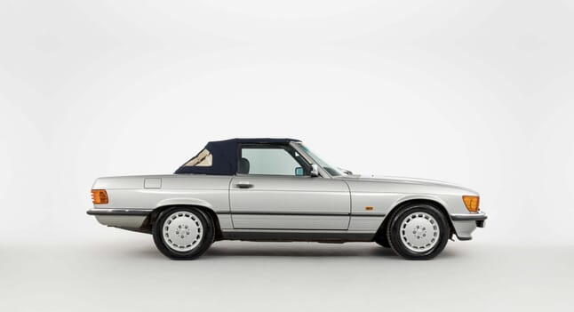 1989 Mercedes R107 300SL: A life of pampering