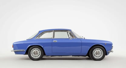 Alfa Romeo 2000 GTV: Beauty in blue
