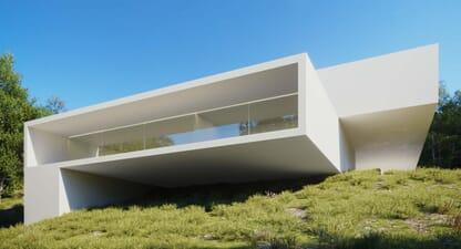 House In Rio de Janeiro: Interplay between areas