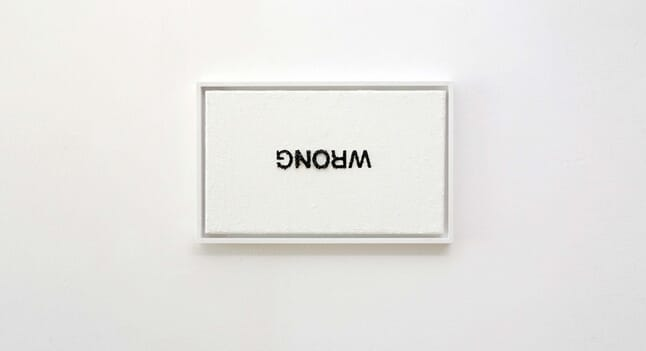 Anatol Knotek's work makes wordplay an art
