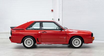 1986 Audi Sport Quattro: Rare racing royalty