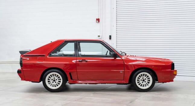 1986 Audi Sport Quattro: Rare racing royalty