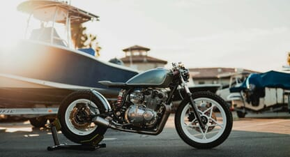 Built for the Beach: Upcycle Motor Garage's Suzuki GS650