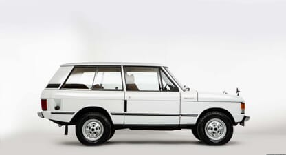 1972 Range Rover Series 1: A car for all reasons