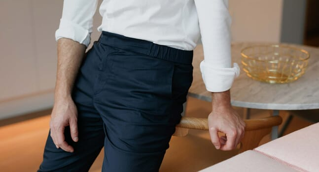 The 24 Trouser is your go-to work-from-home pant