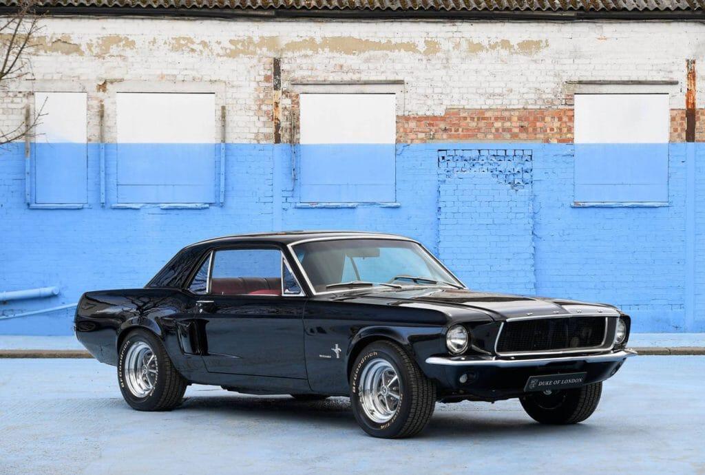 1967 Ford Mustang V8 Notchback American Beauty Opumo Magazine