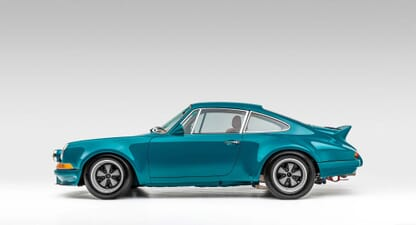 1975 Porsche 911 Twin Turbo: Summer style