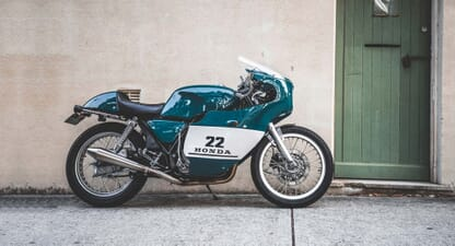 Custom cafe racer: Honda GB400 TT