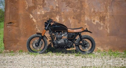 Custom of the week: 2017 Triumph Scrambler