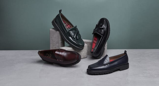 G.H. Bass x Fred Perry: Loafers with an edge