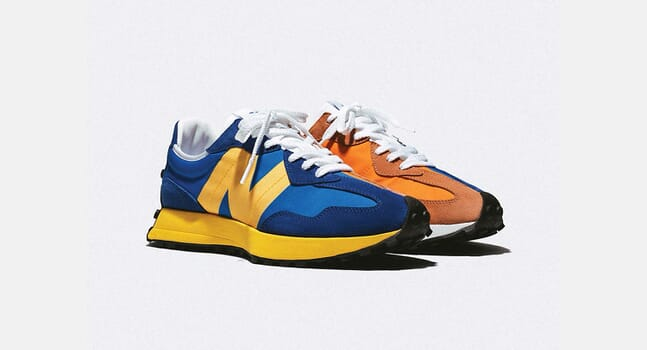New Balance 327: A contemporary spin on 1970s running shoes