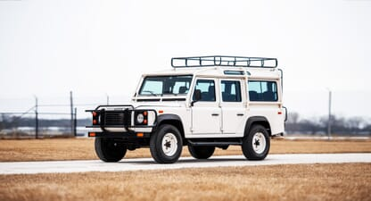 1993 Land Rover Defender: A piece of automotive history