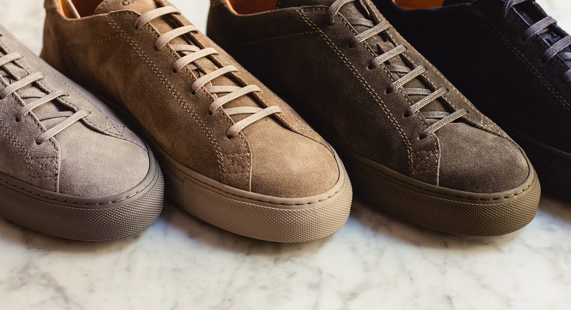 best suede sneakers for year-round wear