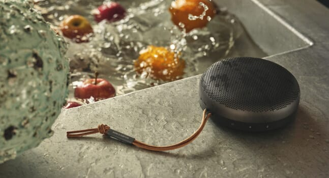 A summer essential: Bang & Olufsen's Beosound A1 Portable Speaker