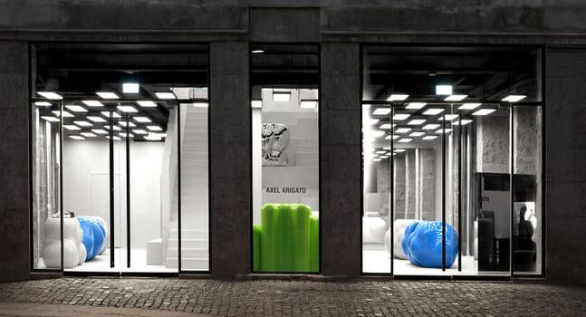 Brutalism meets minimalism: Inside Axel Arigato's Copenhagen store