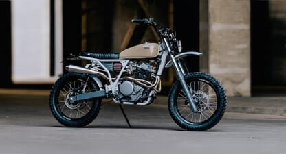 Custom of the week: HONDA XR650 BY MOKKA