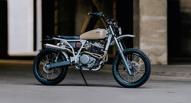 Custom of the week: HONDA XR650 BY MOKKA