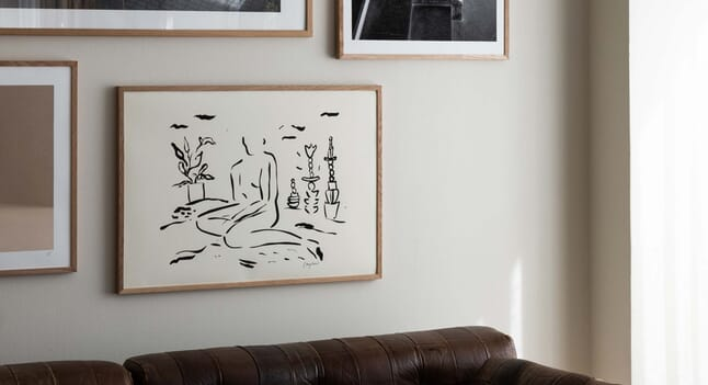 4 art prints to complete your home gallery wall