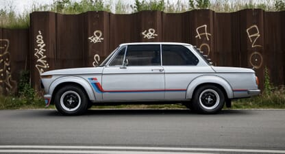 BMW 2002 Turbo: Pure pioneering pleasure