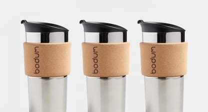 On the move with Bodum