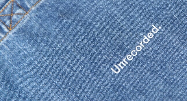 Introducing Unrecorded's new to-die-for denim collection