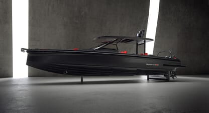 Brabus Shadow 900 Black Ops: Legendary Mercedes tuner takes to the water