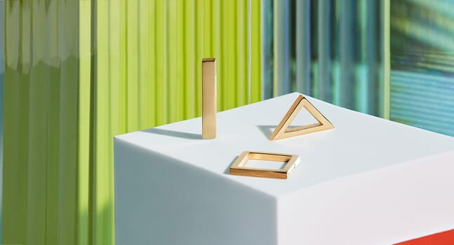 The pursuit of geometric perfection: Introducing Alex Orso's new collection
