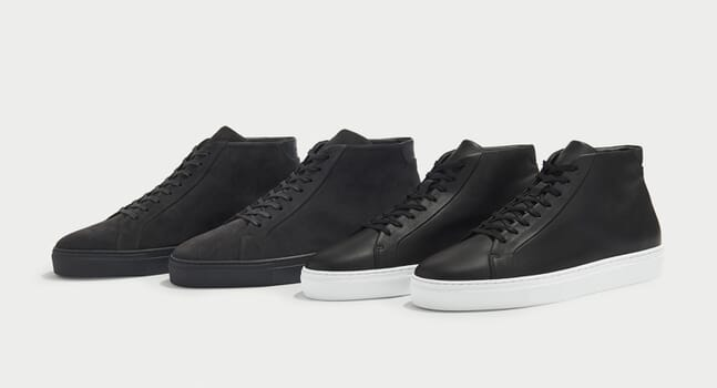 These new sneakers from Uniform Standard are a minimalist's dream