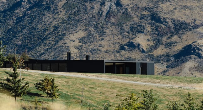 Fearon Hay Architects' Alpine Terrace House is a high mountain haven