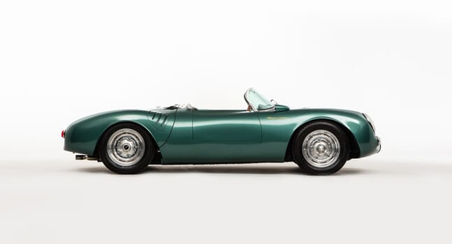 Porsche 550 Spyder Evocation: Rebel with a cause