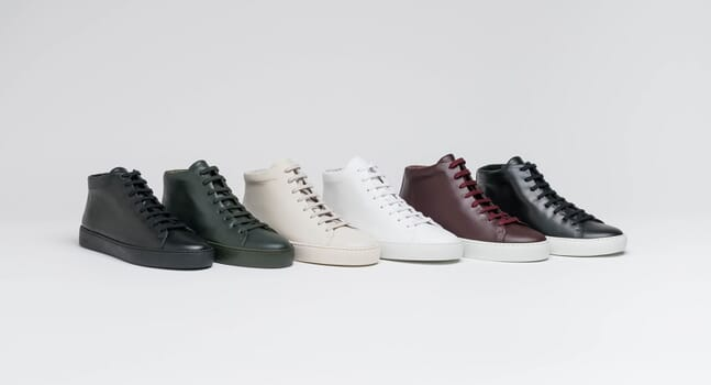 These minimalist hi tops from JAK are your new go-to winter sneakers