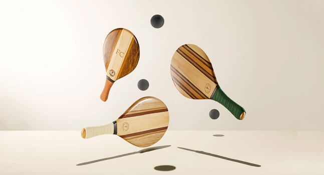 Frescobol Carioca's bespoke beach bats have landed just in time for Christmas