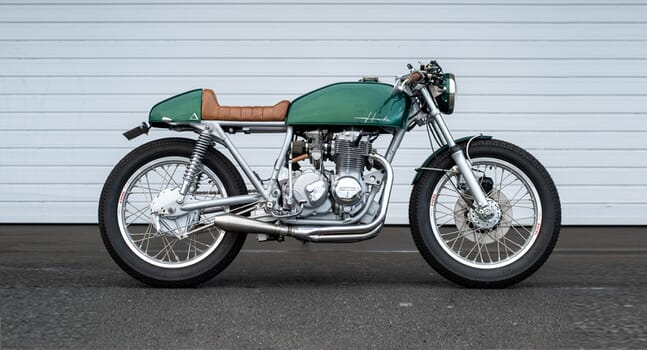 Custom of the week: Honda CB400F by Purpose Built Moto