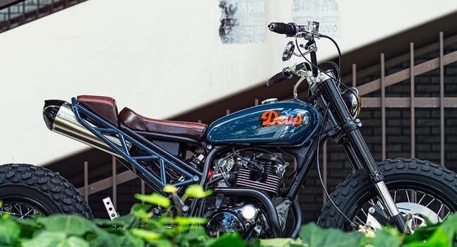 Custom of the week: Yamaha TW225 by Deus Customs Japan