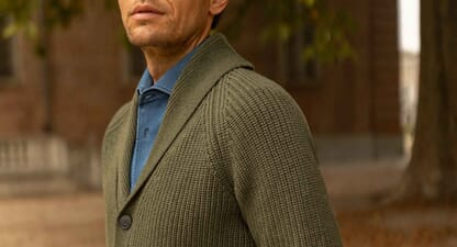 10 men's cardigans for your cosiest winter yet