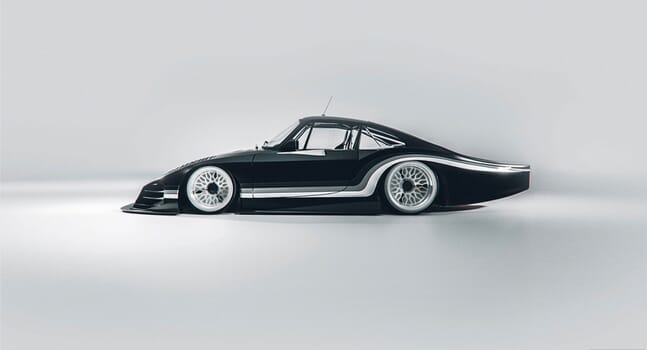 Bisimoto's Moby X is a future vision of vintage motoring