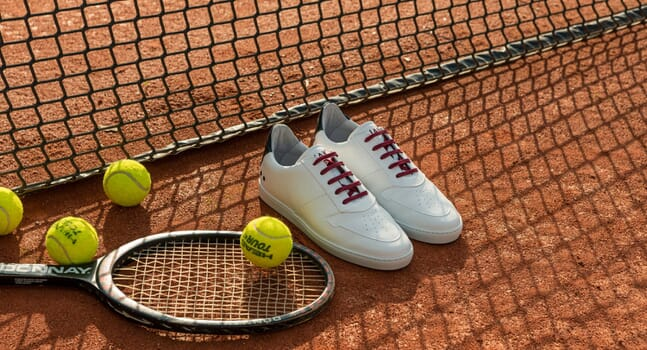 Game, set, match: Introducing JAK's court-ready Vantage sneakers
