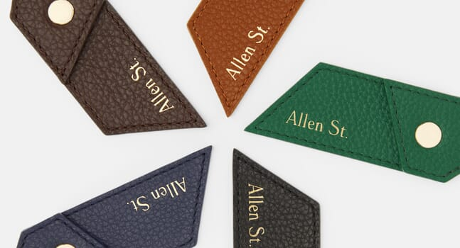 Allen St.: Leather accessories that embody the spirit of New York