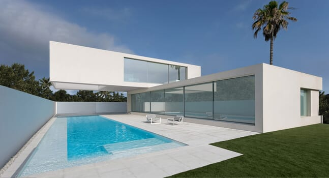 Monochromatic minimalism: Fran Silvestre Arquitectos' House of Sand
