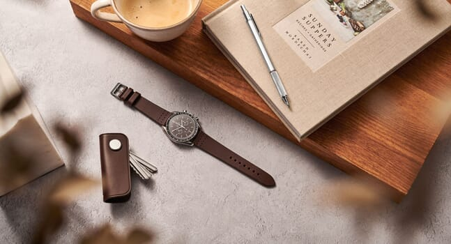 Discover the new range of leather watch straps and cases from Carl Friedrik