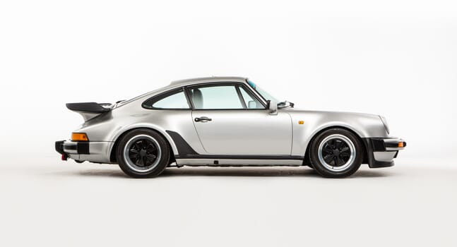 Porsche 930 Turbo: Silver dream machine