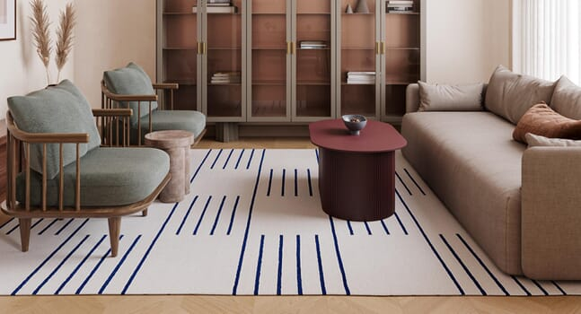 5 patterned rugs from Nordic Knots to add character to your home