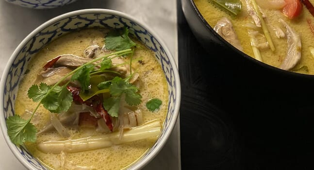 In good taste: A recipe for aromatic chicken and tom kha broth