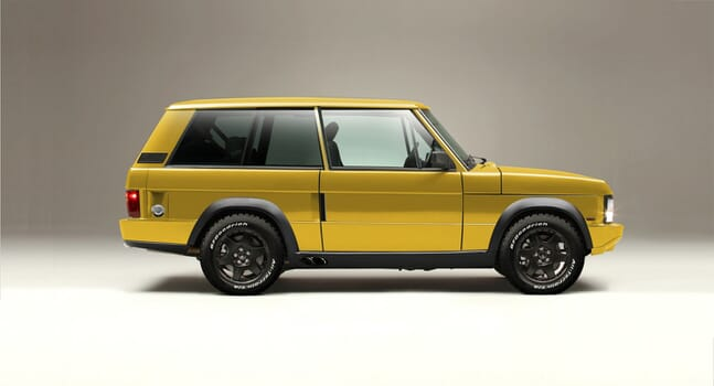 Chieftain Xtreme: snarling 700 bhp classic Range Rover