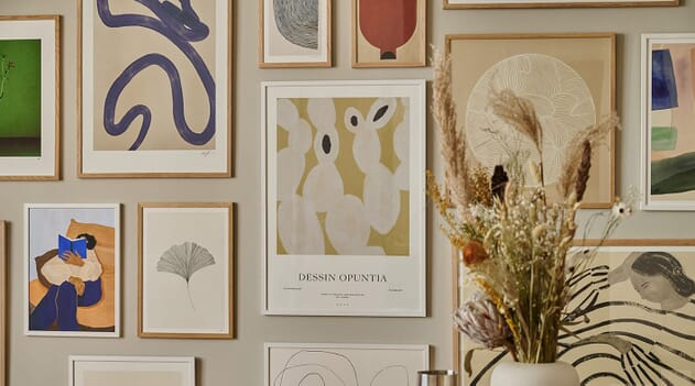 Liven up your home this spring with joyful prints from The Poster Club