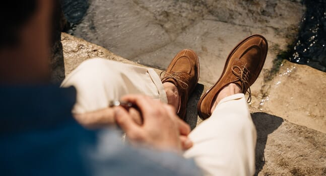 Step stylishly into summer with new unlined shoes from Velasca