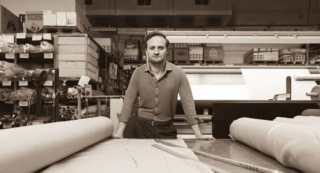 Behind the brand: In conversation with Luca Faloni