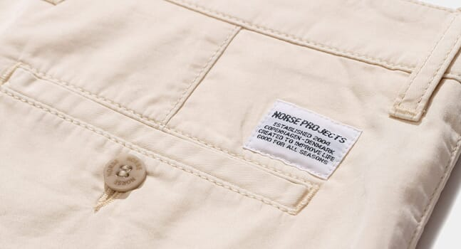 Why Norse Projects' Aros chinos should be your year-round go-to trousers