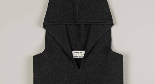 Sheep Inc.'s new hoodie is a serious step up from your standard sweats